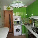 дизайн маленькой кухни 4 кв м