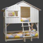 домик кровать на дереве для детской