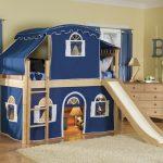 детский замок кровать для мальчиков
