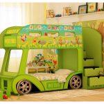 машинка кроватка для двоих детей