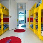 двухуровневые кровати для четверых детей