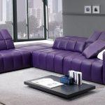 фиолетовый диван уголок