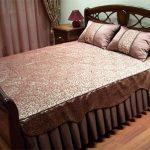 как сшить покрывало на двухспальную кровать