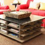 кофейный столик из паллетов