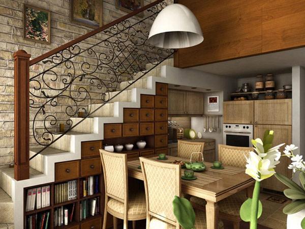 Как сделать из кухни лестницу 498