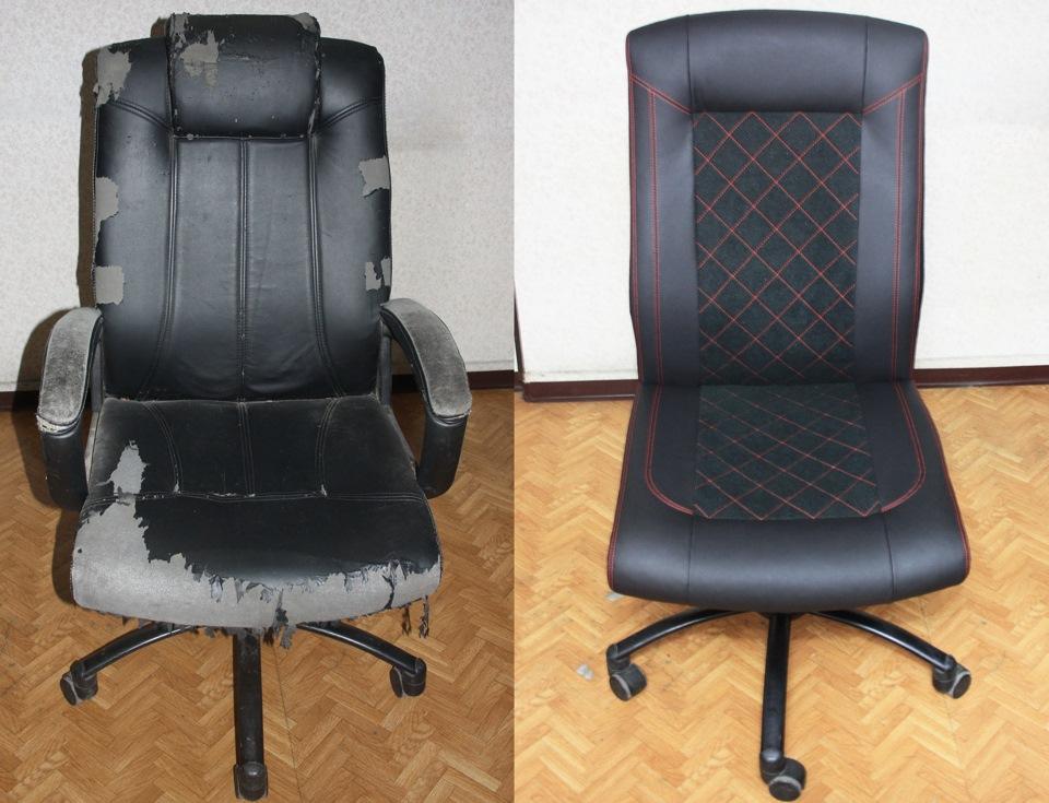 Как своими руками сделать офисное кресло в 767