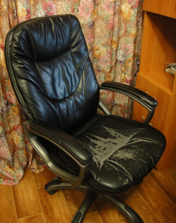 Как своими руками сделать офисное кресло в 605