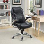 кожаное кресло офисное