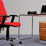 кресло компьютерное красное