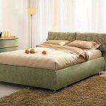 кровать полутороспальная зеленая