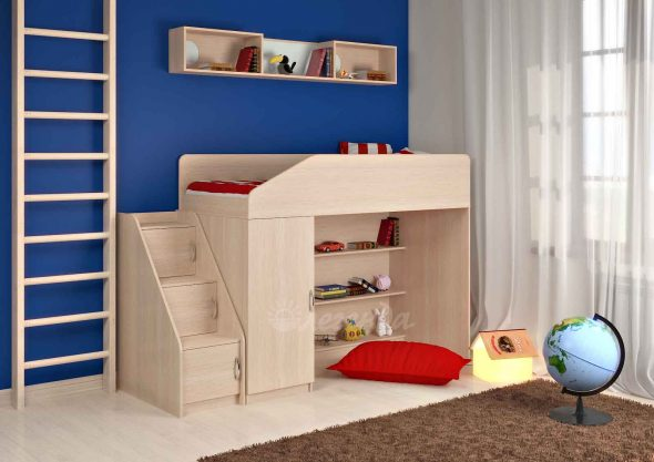Кровать -чердак для ваших детей