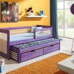кровать с бортиком для двух детей