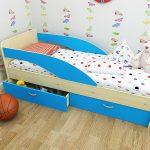 кровать для мальчика в детскую