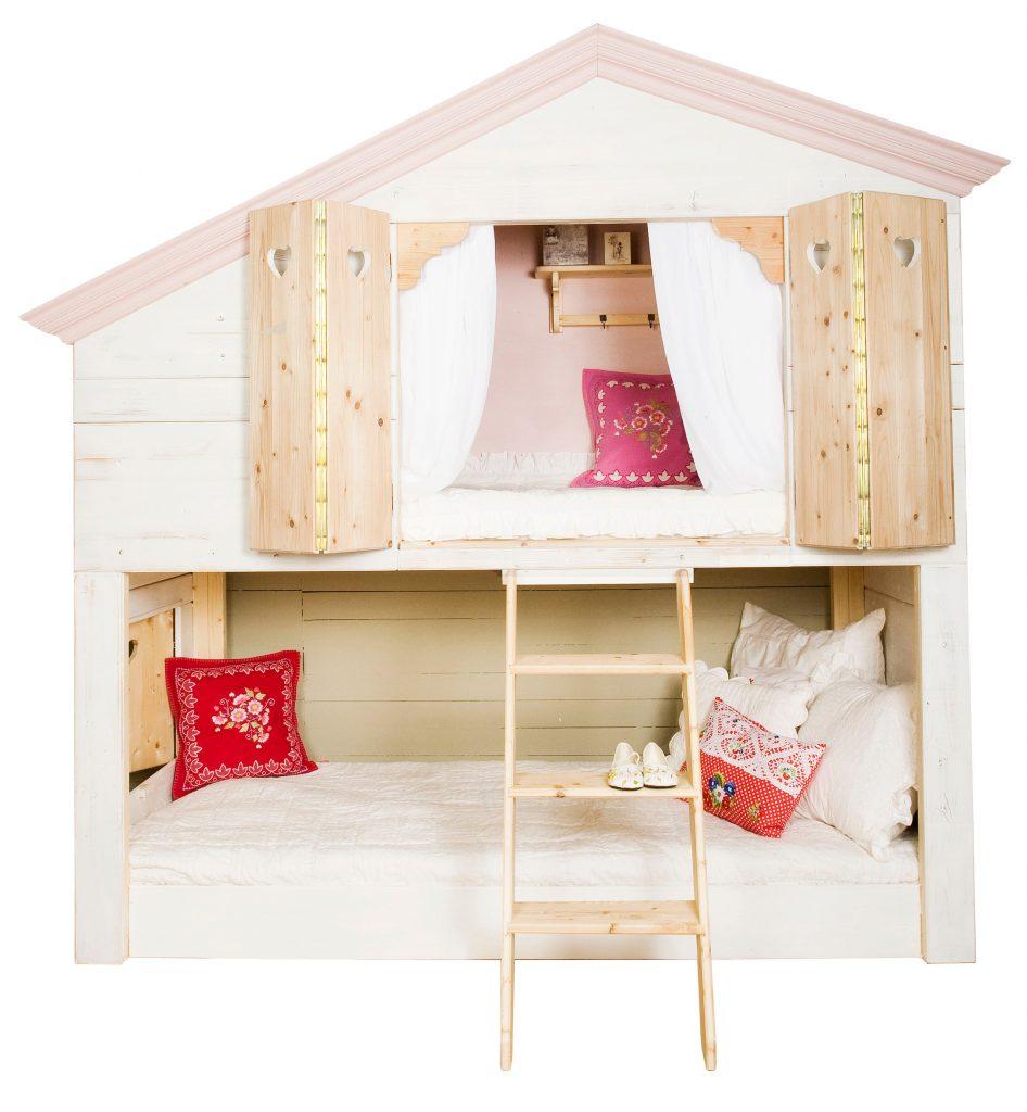 Детская кровать домик для девочки своими руками 71