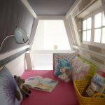 уютный домик кровать в детской