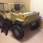 кровать машинка джип