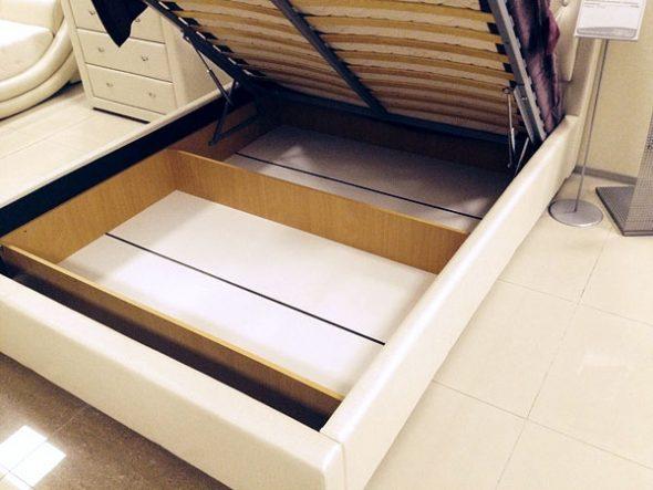 кровать подъёмная шкаф с перегородками