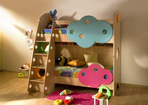 кровать для мальчика и девочки