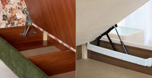 подъемные механизмы кроватей