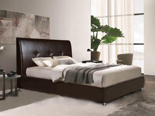 кровать стильный дизайн
