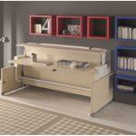 кровать-стол трансформер современная