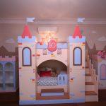 домик замок для принцессы
