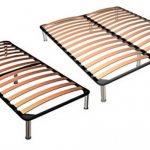 Кровати с основанием из ламелей