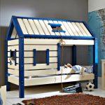 дом кроватка для мальчика