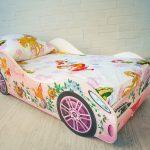 машинка кроватка с феями