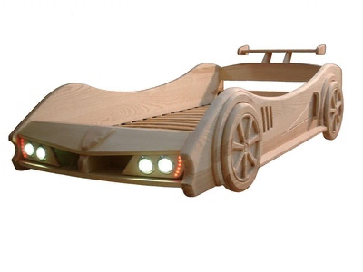 деревянная кроватка машинка