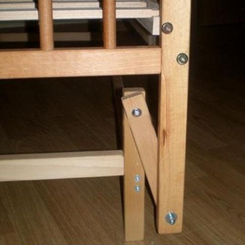 Как сделать маятниковый механизм кроватке