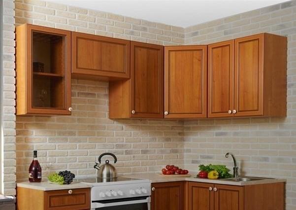 кухонные шкафы в одну линию