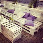 мебель из паллетов для дачи