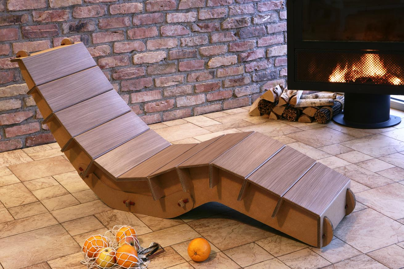 Картонная мебель своими руками