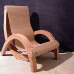 кресло из картона