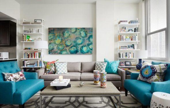 мебель в интерьере квартиры