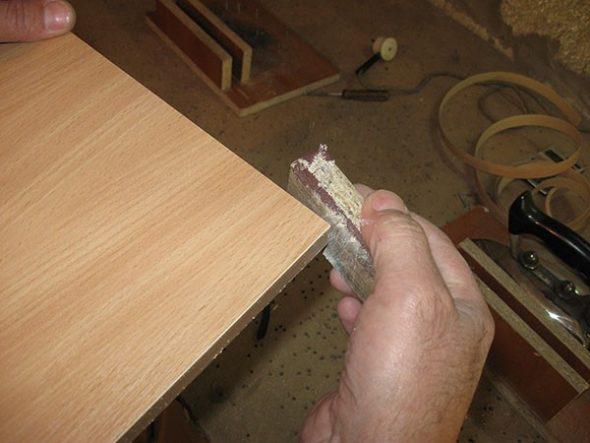 Наклеить кромку пвх в домашних условиях