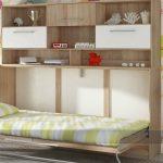 Откидная горизонтальная кровать
