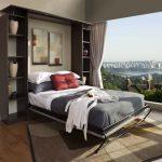кровать-трансформер в соврмеенной квартире