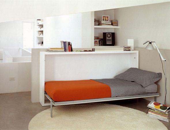 Односпальная откидная кровать