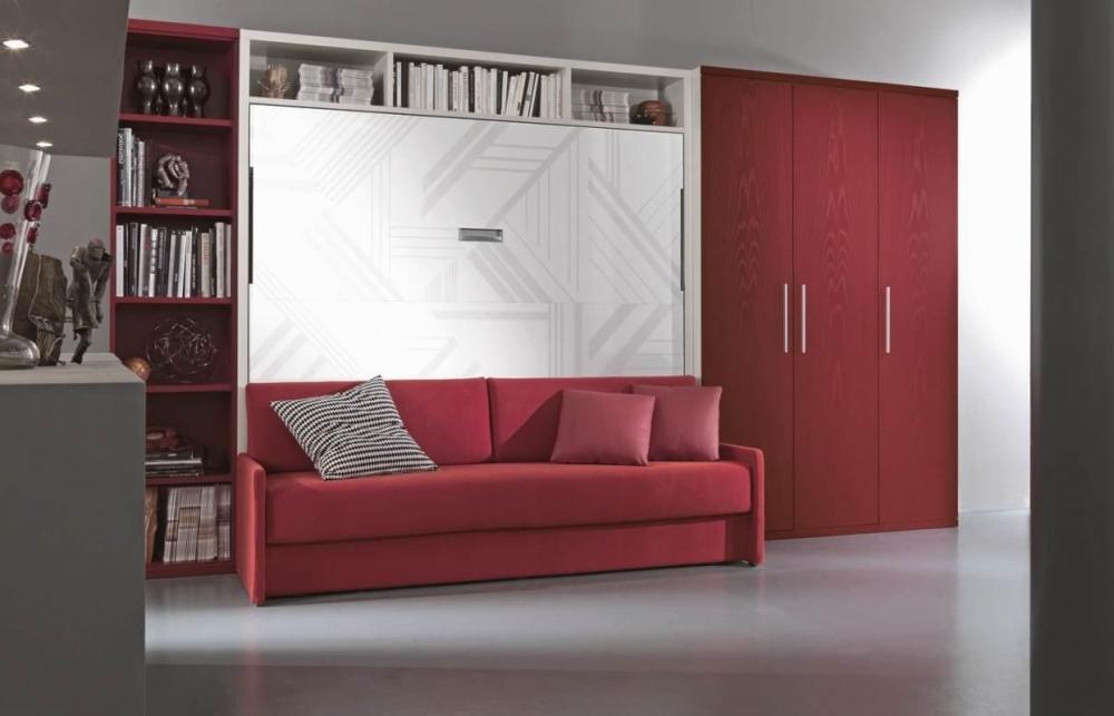 Кровать подъемная с диваном
