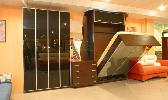 Подъемная кровать от Икеа