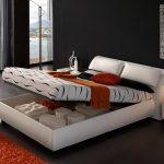 подъемная кровать с нижним отделом