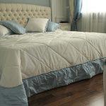 покрывала делают спальню красивее