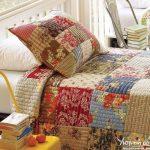 Покрывало для кровати в разных стилях