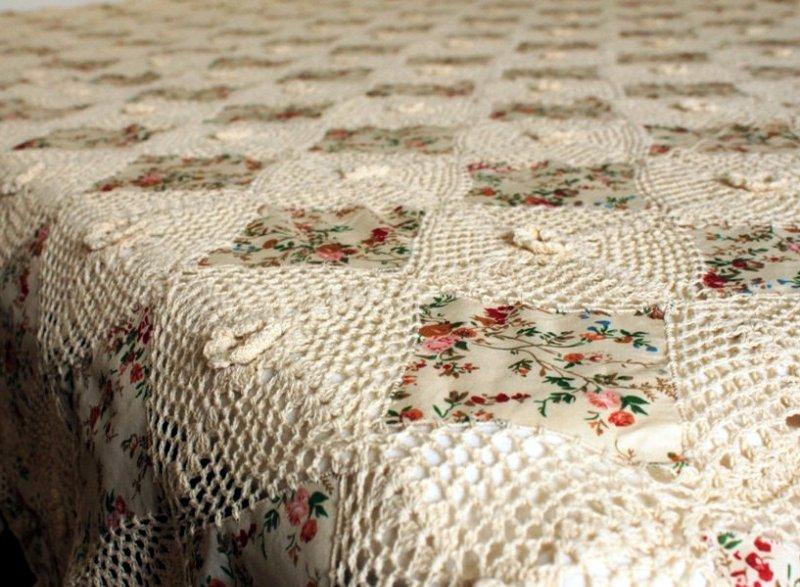 Вязание своими руками одеяло