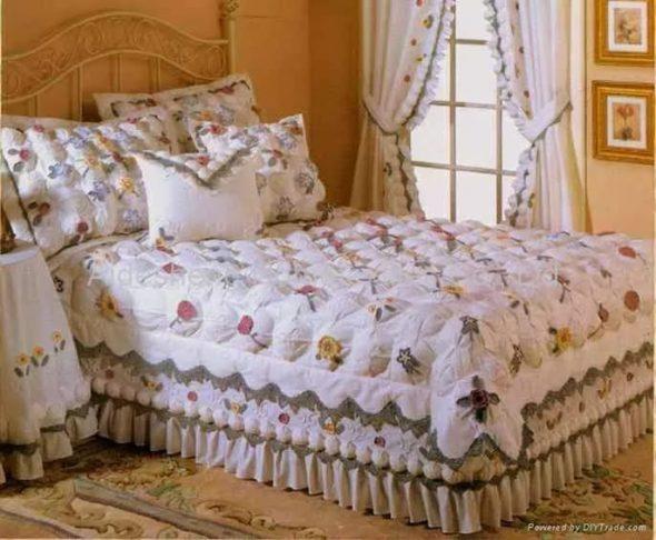 Покрывало фото дизайн на кровать двухспальную