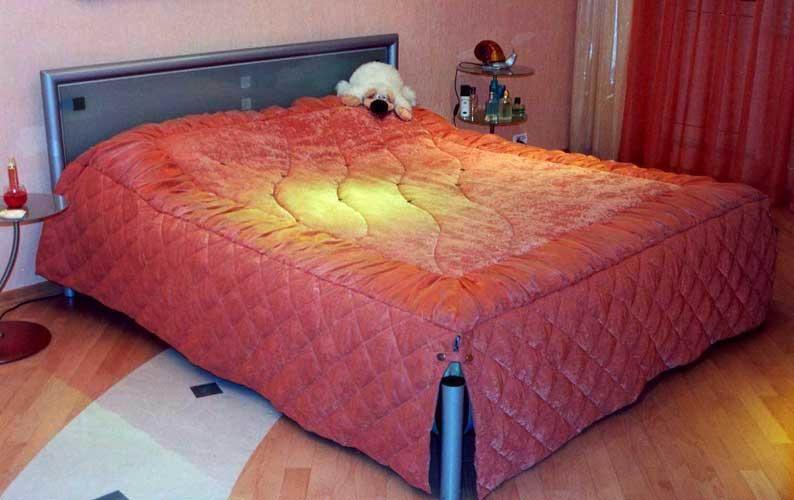 Плед на двуспальную кровать своими руками 35