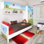 Полка в детской комнате