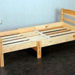 Полностью разложенная раздвижная кровать